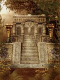 Templo 1 da fantasia Fotografia de Stock
