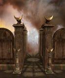 Templo 2 de la fantasía Imágenes de archivo libres de regalías