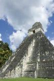 Templo 4 de Tikal imagem de stock