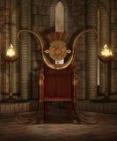 Templo 6 de la fantasía ilustración del vector
