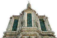 Templo aislado del amanecer Imagen de archivo
