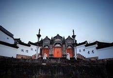 Templo ancestral de Chun de la ciudad de Heshun Fotos de archivo