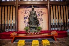 Templo ancestral de Qu Yuan adentro fotografía de archivo libre de regalías