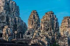 Templo Angkor Thom Cambodia Imágenes de archivo libres de regalías