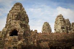 Templo Angkor Thom de Bayon Foto de archivo libre de regalías