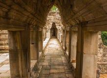 Templo Angkor Thom de Bayon Imágenes de archivo libres de regalías