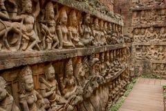 Templo Angkor Thom de Bayon Imagen de archivo libre de regalías