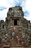 Templo Angkor Wat Imagens de Stock Royalty Free