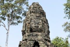 Templo, Angkor Wat, Siem Reap, Camboja Fotografia de Stock