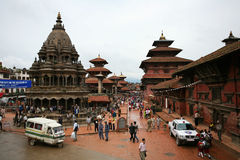 Templo antigo, Bhaktapur, nepal Foto de Stock
