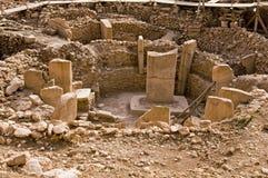 Templo antigo de Gobeklitepe Fotografia de Stock