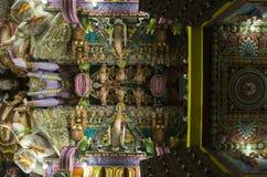 Templo antigo de Pathirakali Amman do hindu em Trincomalee, Sri Lanka imagem de stock royalty free
