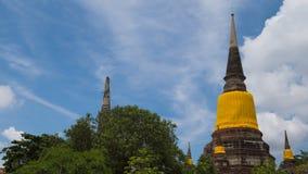 Templo antigo em Ayuddhaya, Tailândia Fotos de Stock