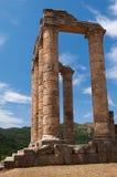 Templo antigo grego Imagem de Stock Royalty Free