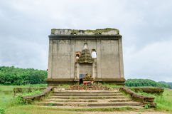 Templo antigo Muang Badan (subaquático), província de Kanchanaburi, Tailândia Fotografia de Stock Royalty Free
