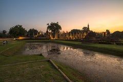 Templo antigo no tempo crepuscular Foto de Stock Royalty Free