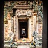 Templo antigo tailandês fotografia de stock