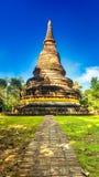 Templo antigo Wat Umong de Tailândia da Buda Fotos de Stock Royalty Free
