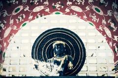 Templo antigo Wat Umong de Tailândia da Buda Imagem de Stock