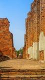 Templo antiguo, Ayutthaya, Tailandia fotos de archivo libres de regalías