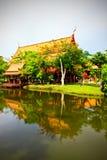 Templo antiguo, Bangkok Tailandia Foto de archivo libre de regalías