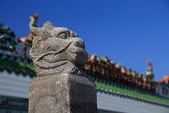 Templo antiguo chino de la madre del dragón, templo de Longmu fotografía de archivo