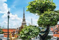 Templo antiguo del palacio magnífico de los reyes de Bangkok en Tailandia Imagenes de archivo