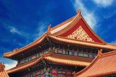 Templo antiguo en ciudad prohibida Imágenes de archivo libres de regalías