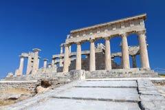 Templo antiguo en Grecia Foto de archivo libre de regalías