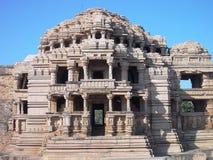 Templo antiguo en Gwalior/la India Foto de archivo