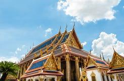 Templo antiguo Tailandia del palacio de los reyes de Bangkok Fotos de archivo libres de regalías