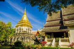 Templo antiguo, templo de Wat Chiang Man en Chiang Mai, Tailandia. Imágenes de archivo libres de regalías