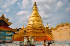 Templo antiguo viejo en Myanmar Foto de archivo libre de regalías