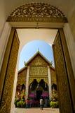 Templo arquitectónico tailandés Imagen de archivo libre de regalías
