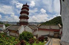 Templo asiático Imagens de Stock