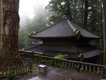 Templo atmosférico en las colinas Fotos de archivo libres de regalías