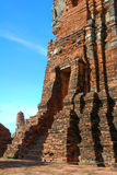 Templo Ayuttaya Tailandia de Mahatad Fotografía de archivo libre de regalías