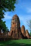 Templo Ayuttaya Tailandia de Mahatad Fotos de archivo libres de regalías