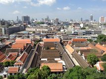 Templo - Ayutthaya (Buda) Foto de Stock Royalty Free