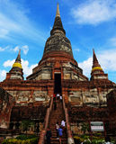 Templo Ayutthaya do Khmer Imagem de Stock