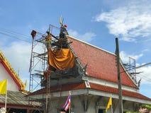 Templo bajo construcción Fotos de archivo libres de regalías