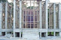 Templo bajo construcción. Fotos de archivo libres de regalías