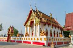 Templo bajo luz del sol Foto de archivo libre de regalías