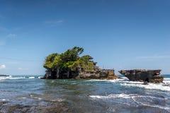Templo Bali de la porción de Tanah Fotos de archivo libres de regalías