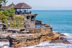 Templo Bali de la porción de Tanah Imagenes de archivo