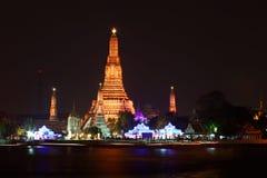 Templo Bangkok Tailandia del arun de Wat Imagenes de archivo