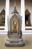 Templo, Banguecoque, Tailândia fotografia de stock