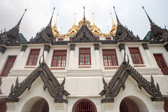 Templo Banguecoque Tailândia de Ratchanadda Imagens de Stock
