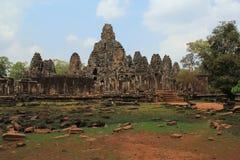 Templo Bayon en Camboya Foto de archivo libre de regalías