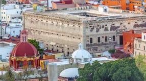 Templo Belen Alhondiga de Granaditas Guanajuato Mexiko stockfoto